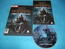 LOTR BATTLE FOR MIDDLE EARTH II 2 RISE OF THE WITCH-KING EXPANSION PACK COMPLETE