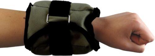 Wrist Ankle Leg Weights Strap 2 x 1kg │ Adjustable Strength Training by BodyRip