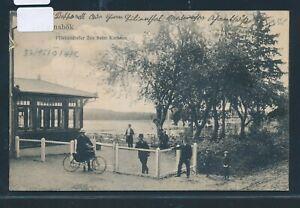 34928) Ak Ahrensbök Flörkendorfer Mer B. Kurhaus 1910 + Bahnpost-afficher Le Titre D'origine