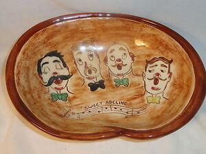Pretzel-Bowl-Pennsbury-Pottery-Sweet-Adeline-Barbershop-Quartet