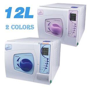 Details about Sun 12L Dental Vacuum Autoclave Sterilizer With Printer Lab  Medical Equipment CE