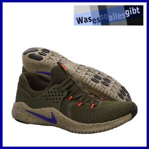 SCHNAPPCHEN-Nike-Free-Trainer-V8-gruen-orange-Gr-44-FI-3654