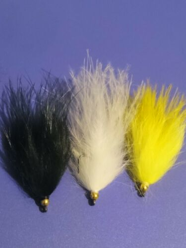 9 SMALL MIXED WATER BARBLESS APACHE LURES  Trout Flies by Iain Barr Fly Fishing