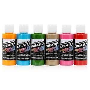 Createx-Colors-Airbrush-Paint-Tropical-Set-5810-00-6-Colors-2-oz