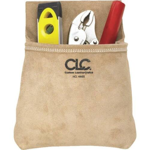 CLC Heavy Duty Suede Leather Nail Bag 444X