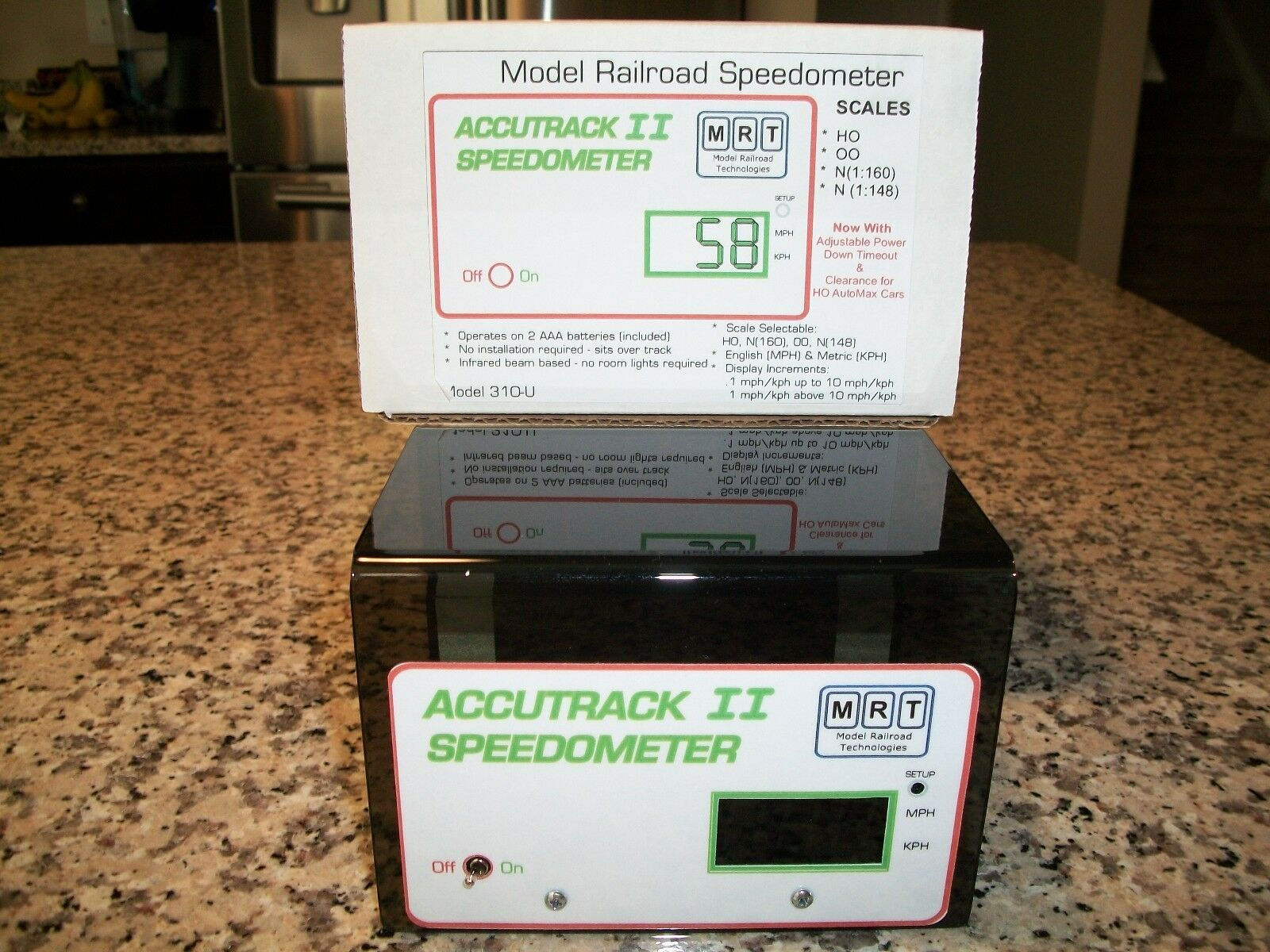 MRT Accutrack 2 Model Railroad Speedometer Newest Version   Bob The Train Guy