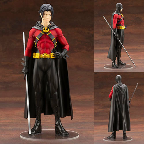 DC COMICS IKEMEN DC UNIVERSE Red Robin First Press Limited Edition 1 7 PVC