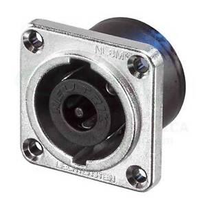 Neutrik-NL8MPR-connecteur-8-Poles-Speakon-cadre-panneau