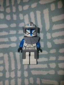 lego star wars: the clone wars - captain rex minifigure phase 1 from set 7675 | ebay