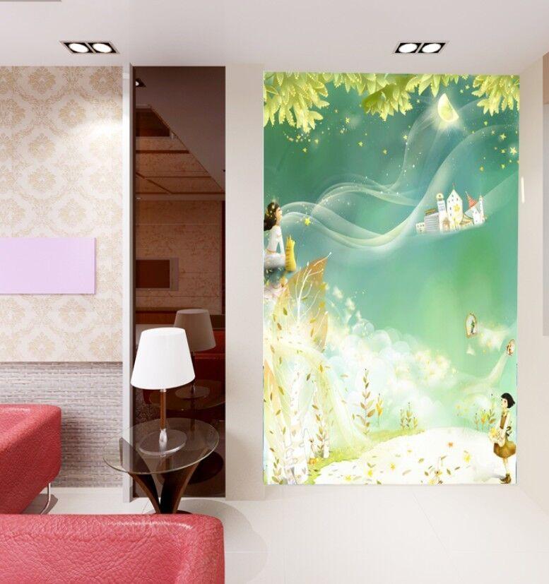 Huge 3D Fresh Cartoons Wall Paper Wall Print Decal Wall Deco Indoor Wall Murals