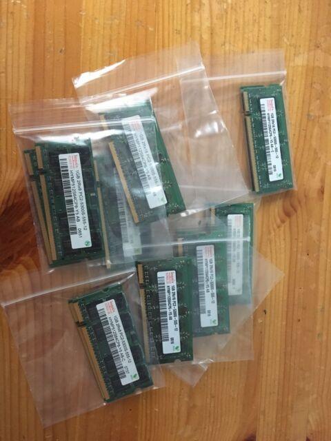 Hynix 2x 1GB DDR2 5300 667 SODIMM  LAPTOP RAM (Ref A103)
