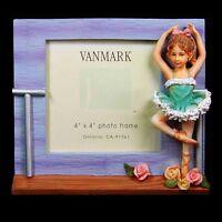 Vanmark 'the Beauty Of Ballet' 4 X 4 Photo Frame