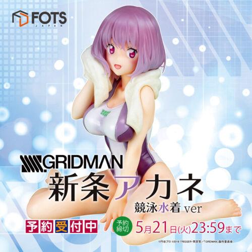 SSSS.GRIDMAN Shinjo Akane Swimming Swimsuit Swimware ver Figure 1//7 FOTS w//Track