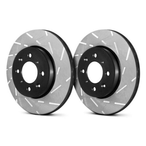 For Ford Escort 1991-2003 EBC S4KF1728 Stage 4 Signature Slotted Front Brake Kit