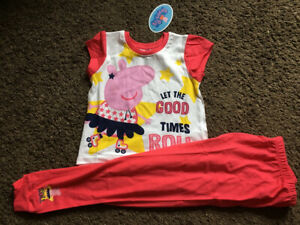 Peppa Pig Pyjamas. Ages 12 Months To 5 Years