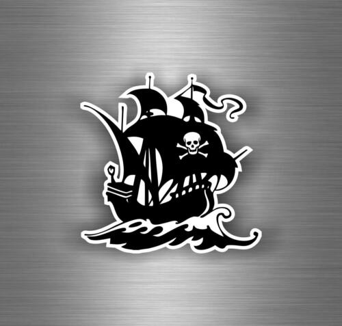 Sticker decal motorcycle car tuning room kids befroom pirates pirate skull r1