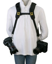 Dual DSLR Strap Double Camera Strap for Two Cameras 7D Mark iii 5D T3i 60D D800