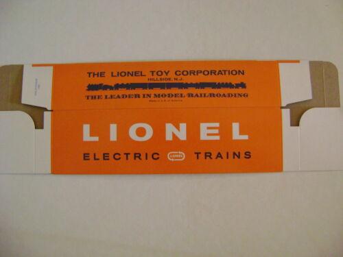 Lionel 6823 Flatcar w//IRBM Missiles Licensed Reproduction Window Box