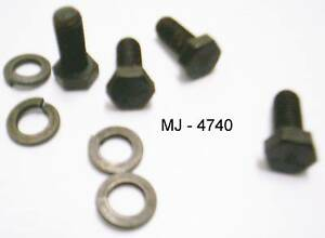 Lot-of-Bolts-and-Lock-Washers-NOS