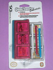 Brand New Nintendo DS Game Traveler Essentials pack - 3 styluses & 3 cases