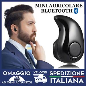 AURICOLARE-BLUETOOTH-CUFFIA-WIRELESS-MICROFONO-UNIVERSALE-iphone-android