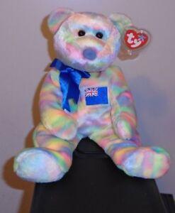 TY Beanie Buddy Asian-Pacific Exclusive - MWMTs Stuffed Toy KIWIANA the Bear