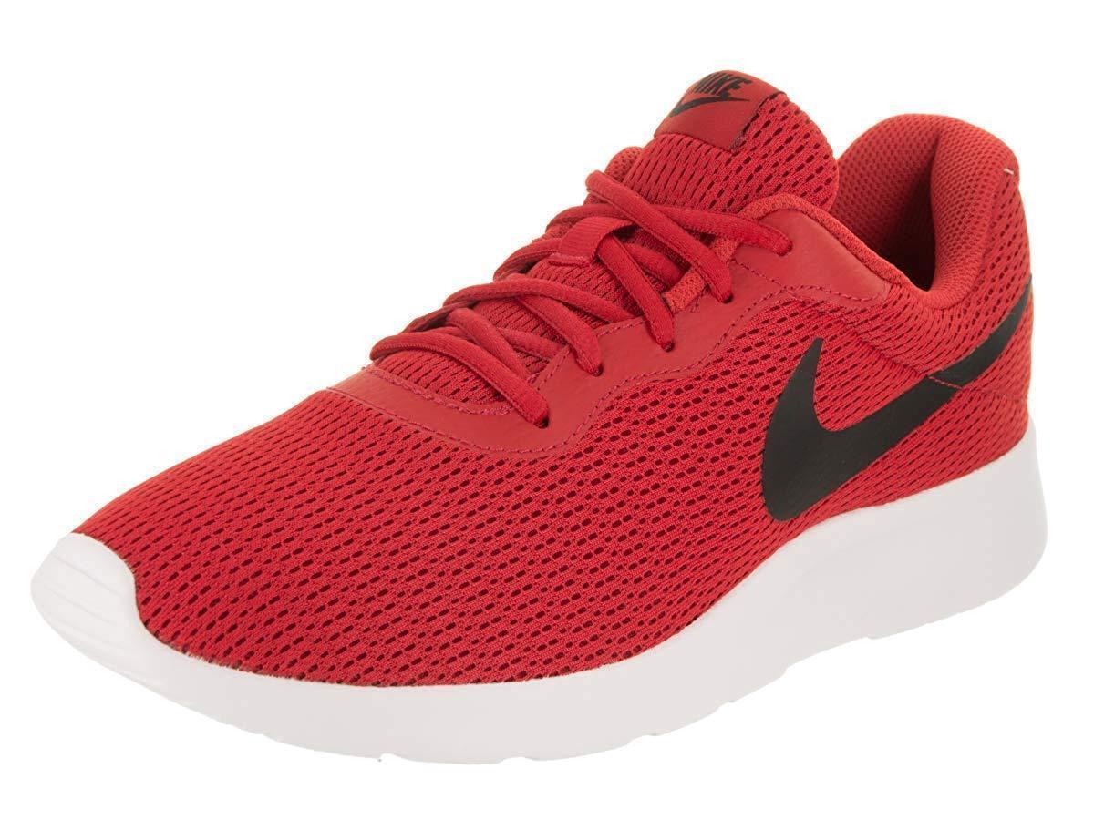 Mens nike tanjun in scarpe da ginnastica scarpe rosso   nero, allenatore dell'università 812654 601 | Abbiamo Vinto La Lode Da Parte Dei Clienti  | Scolaro/Ragazze Scarpa