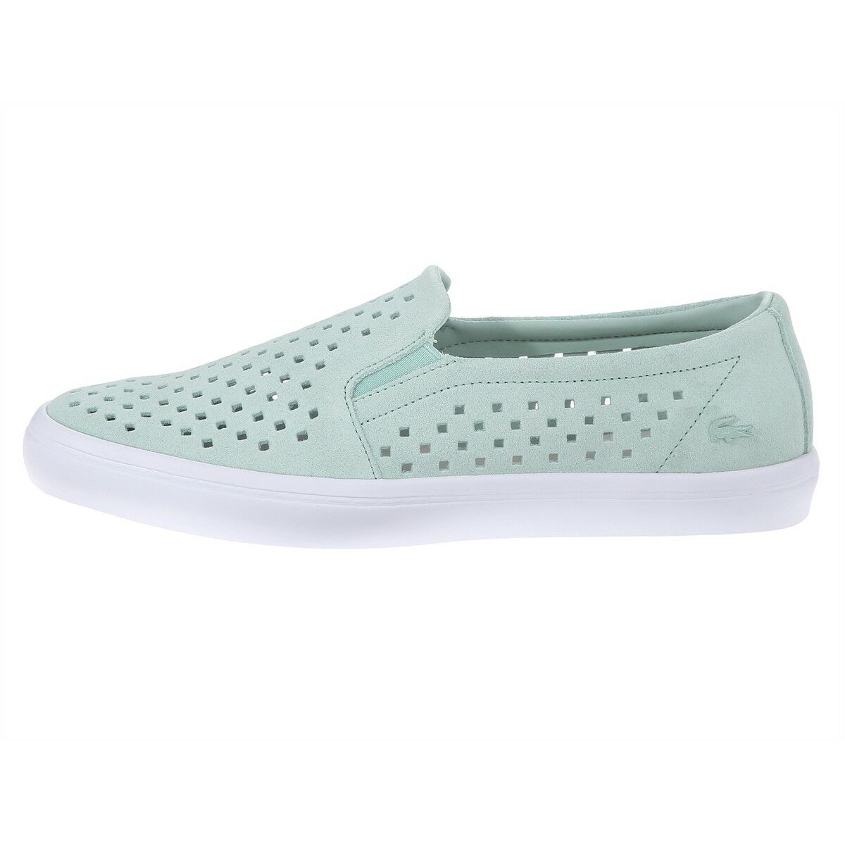 Lacoste Skate Shoes Women Gazon Slip-On NEW Sneakers Leather Casual Slip-On Gazon 4701ad