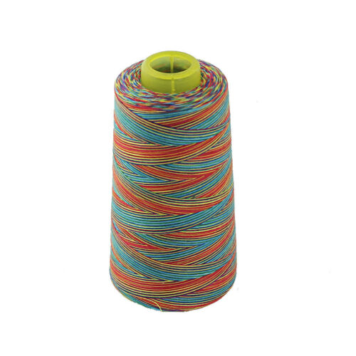 Colorful All Purpose Polyester Sewing Thread for Sewing Machine 3000 Yards