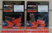 RFX RACE SERIES KTM SX85 2003 - 2010  FRONT & REAR BRAKE PADS  50400 X2