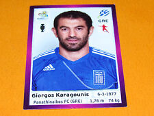 94 KARAGOUNIS HELLAS GRECE FOOTBALL PANINI UEFA EURO 2012