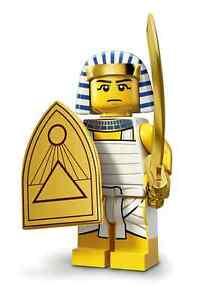 EGYPTIAN-WARRIOR-Series-13-GENUINE-LEGO-MINT-w-unused-CODE-COMPLETE