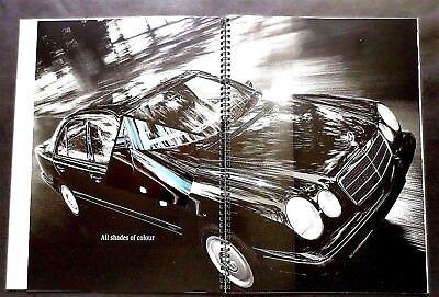 1996 Mercedes Benz C280 E420 SL320 SL500 Sport Line Original Car Sales Brochure