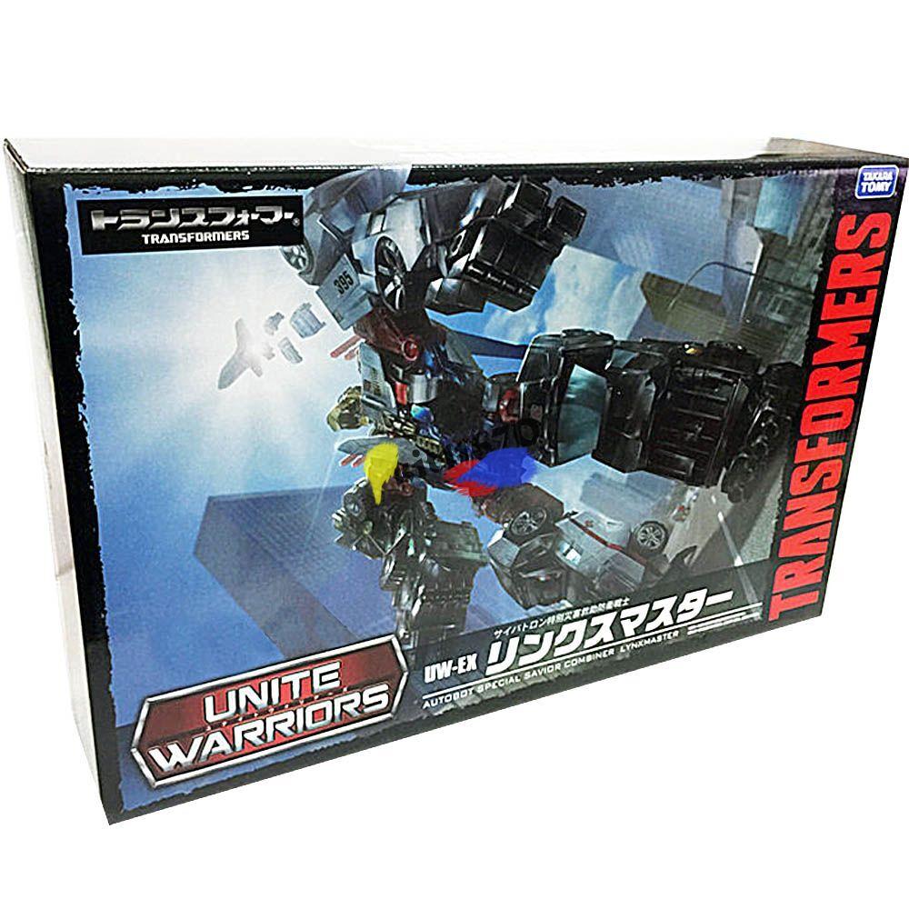R Transformers Takara Unite Warriors UW-EX Savior Combiner Lynx Master MISB