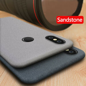 new style f3b6b bd140 Details about For Xiaomi Mi A2 Lite A1 9 Pocophone F1 Sandstone Matte  Silicone Soft Case Cover
