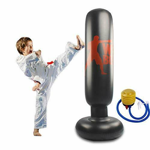 Eforoutdoor Punching Bag for Kids Inflatable Punching Bag Free Standing