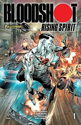 BLOODSHOT U.S,A.#1  Bulletproof Variant Movie soon Diego Benard cover NM 9.6