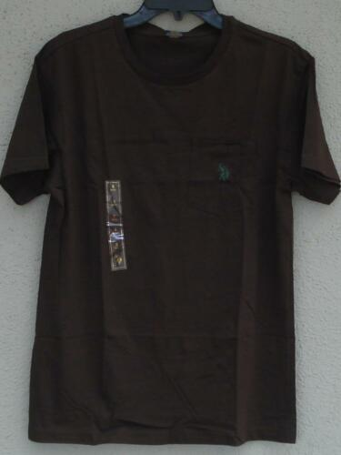 100/% Cotton Front Pocket T-Shirt Polo Assn BRAND NEW VARIOUS SIZES//COLORS U.S