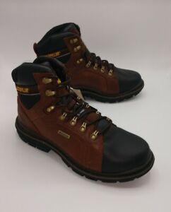 New-Caterpillar-Men-039-s-Manifold-Tough-Steel-Toe-Waterproof-Work-Boots-Size-9-5