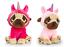 Keel-Toys-Pugsley-14cm-Unicorn-Pug-Dog-2-Designs-Cuddly-Soft-Toy-Teddy-SD1232 thumbnail 1