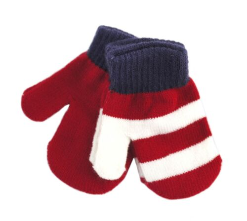 RJM 2 Pack Soft Knit Babies Mittens