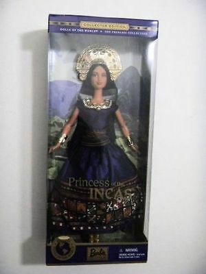 NRFB Barbie Princess of the INCAS Collector Edition from 2000 DOTW