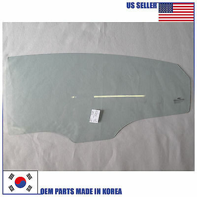 Left Rear Genuine Hyundai 83410-3S000 Door Glass Assembly