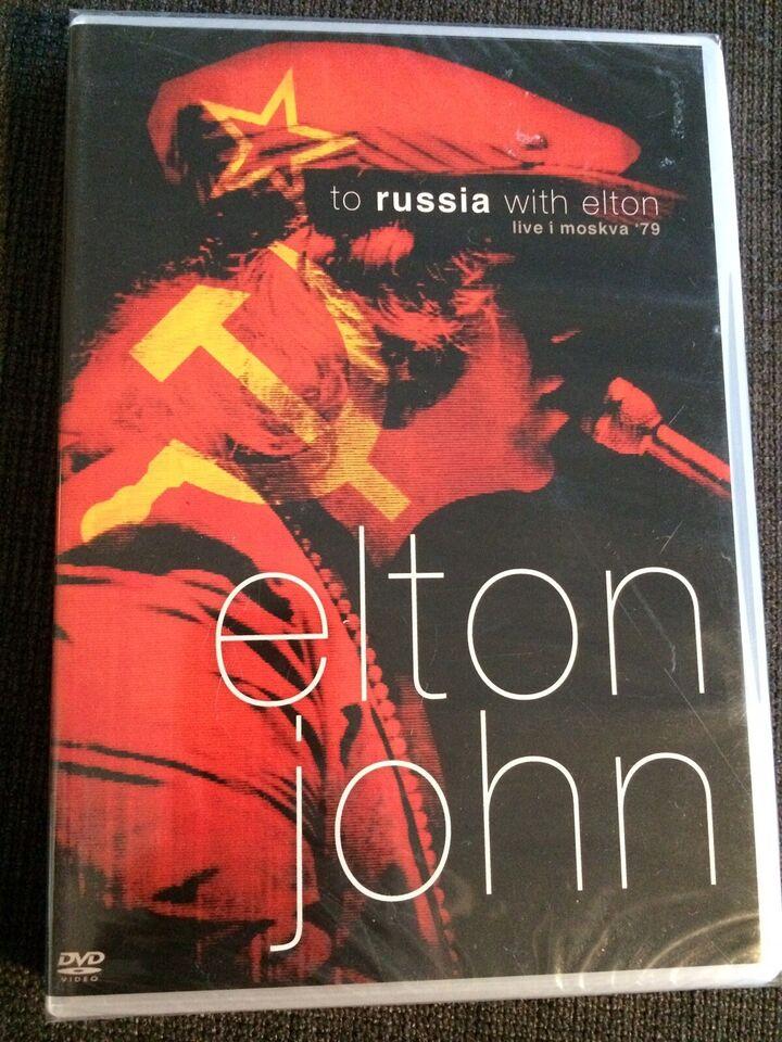 Elton John: To Russia ... With Elton (DVD), pop