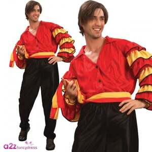 d5b6f1a9729 Men Rumba Man Adult Costume Latino Flamenco Spanish Mexican Strictly ...