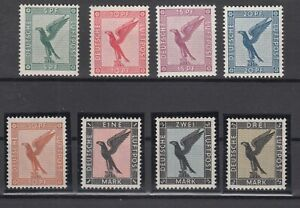 X2148-GERMANY-REICH-MI-378-384-COMPLETE-MINT-MNH-CERTIFICATE-CV-1320