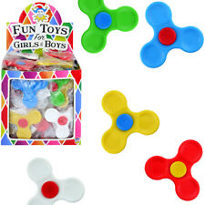 MINI FINGER FIDGET SPINNERS BOYS GIRLS FIDDLE FUN TOY BIRTHDAY PARTY BAG FILLERS