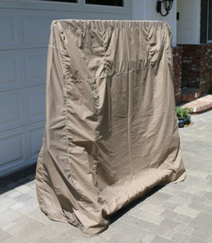 Protective Outdoor Tan Table Tennis Ping Pong Cover by California Car Cover