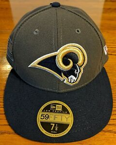 reputable site 1b1a3 a7356 Image is loading Los-Angeles-Rams-Crafted-in-American-New-Era-