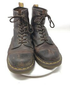 Dr-Doc-Martens-Air-Wair-With-Bouncing-Soles-Brown-Mens-Boot-Size-11